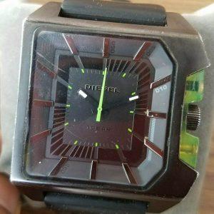 Authentic Diesel DZ-1338 Quartz Analog Black Watch for Men