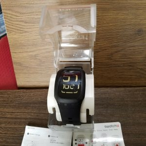 Amazing Swatch CP1632 Surb100 Touch Black Watch For Men