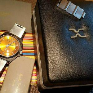 Best-Selling Paul Smith Quartz Watch for Men Orange Face