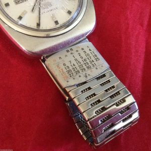 Citizen 90500673 27 Jewels Dandy Seven Custom Automatic Day Date Watch for Men
