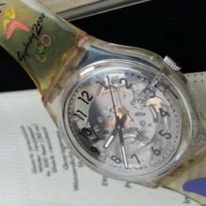 Very Rare Authentic Swatch Sydney 2000 Olympics Limited Edition Men Watch