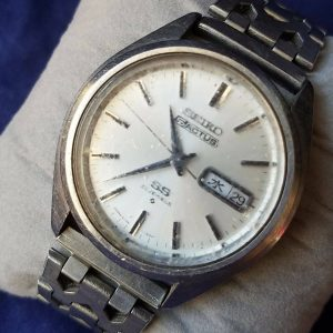 Seiko 5 ACTUS Day-Date Automatic 23 Jewels Men Watch Junk