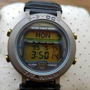 G Shock MRG-1 MR-G Module 1556 Gray Gold Screw Titanium Watch