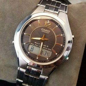 Casio LCW-M200 Lineage Multi band 5 Tough Solar Wave Ceptor Watch For Men