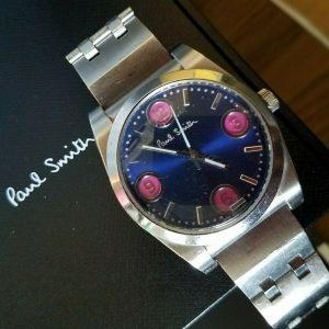 Best Selling Paul Smith Quartz Analog Men Blue Face Watch