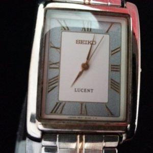 Seiko 5e21-5010 Lucent Quartz Analog Watch for Men