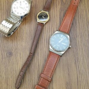 VEGA JUNCTION Set of 3 Watches for Parts Only Not Working Junk