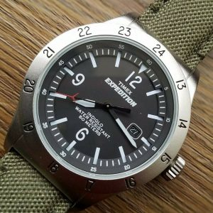 Timex T49880 Expedition INDIGLO Quartz Date Watch Junk