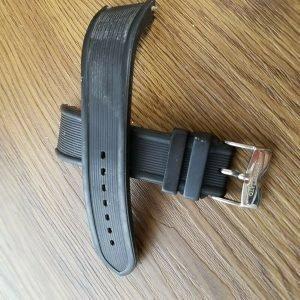 MORELLATO Watch Band Rubber Black Color