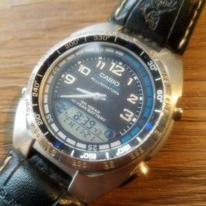 Casio AMW-700 Module 3768 Fishing Gear Watch for Men