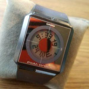 Casio FS-02 Module 2128 Film Wrist Futuristic Watch