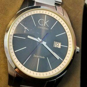 Calvin Klein CK K 22 461 Black Date Dial Dress Quartz Watch for Men