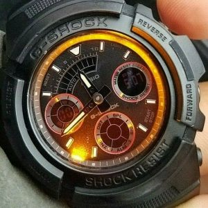 G-Shock AW-591ML Module 4778 Digital Analog Black For Men