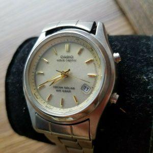 Casio LWQ-110DJ Module 3782 Date Wave Ceptor Watch for Women