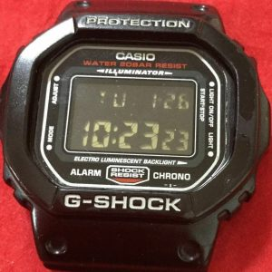 G-Shock DW-5600 Module 1545 Watch for Men Dial Only