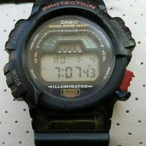 G Shock DW 8700 Foxfire Module 1548 Watch For Men JUNK