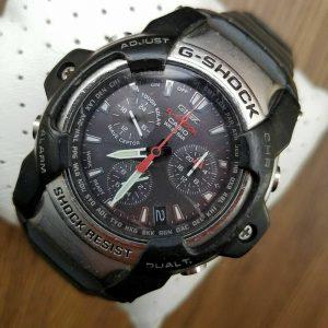 G Shock GS 1000J Module 4343 Giez Tough Solar Black Watch For Men