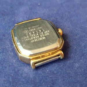 Seiko 1421-5390 Quartz Watch For Women Black Dial SGP For Parts
