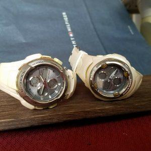 G-Shock G-611LV Module 2738 Baby G BG-60LV Pair Watch JUNK