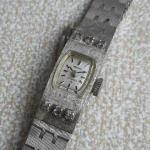 Seiko 1520 Module 3430 Mechanical Hand Winding Watch for Women