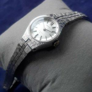 Seiko Automatic Hand Winding 21 Jewels Analog Watch for Women