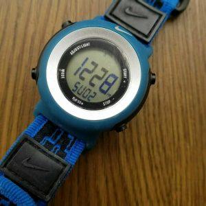 Nike K0013 Timber Blue Sports Watch For Kids Children Teenage