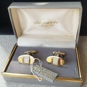 Givenchy Cufflinks Set Men's Fine Jewellery Gold Color for Men