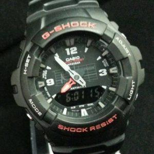 G Shock G 100 Module 2327 Sports Analog Wristwatch for Men's Quartz