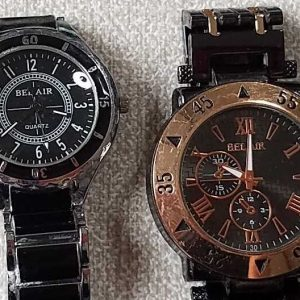 Bel-Air Watch lot of 2 Watches No.A034 For Men for Parts or Repair