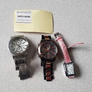 Club Face 2 CF 1110 Junk lot of  3 Watches No.A035 For Men Women Unchecked for Parts or Repair