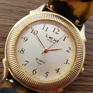Lexi G-53 louis feraud Junk lot of 2 Watches No.A087 For Men Women Unchecked for Parts or Repair