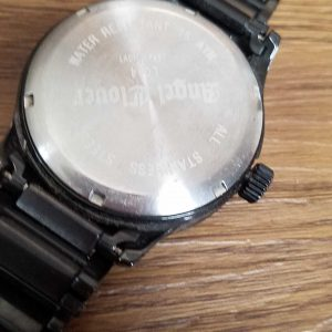 Angel Clover LC44 Adonis Junk lot of 2 Watches No.A070 For Men Unchecked for Parts or Repair