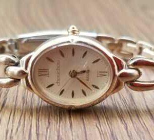 REGUNO GN-0-S-10 St Module 5930 Quartz Base Steel Gold Color Watch for Women