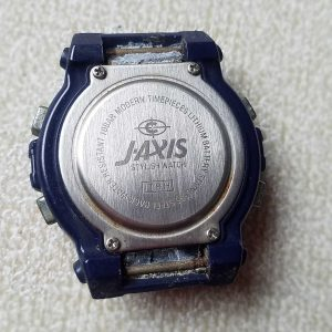 Cybeat J-Axis Quartz Junk Watches Lot of 2 Watches Lot No.A222 For Men Unchecked for Parts or Repair