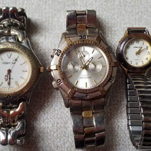Vitaroso Watch Junk Watches Lot of 3 Watches Lot No.A183 For Men Women Unchecked for Parts or Repair